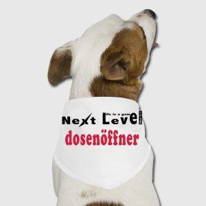 Life is a game Next Level dosenöffner - Hunde-Bandana