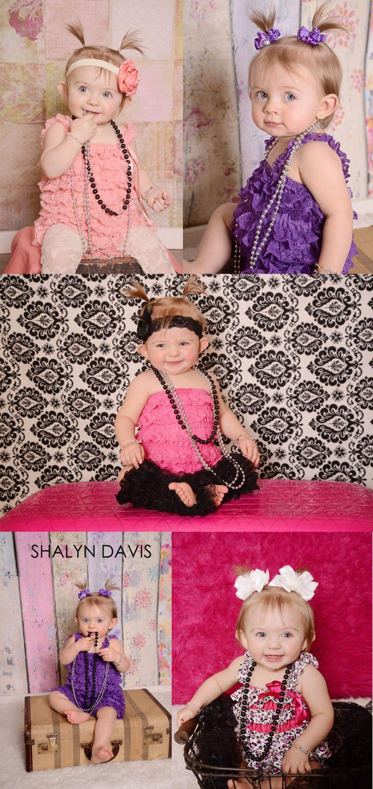 www.shalyndavisphotography.com  one year old photoshoot, little girl photoshoot, indoor photography, children photography, shalyn davis photography