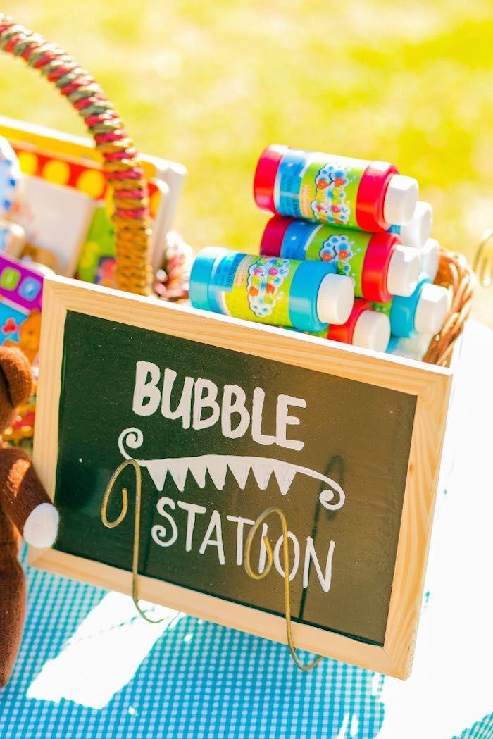 Teddy Bear Picnic in the Park themed birthday party via Kara's Party Ideas | KarasPartyIdeas.com (30)