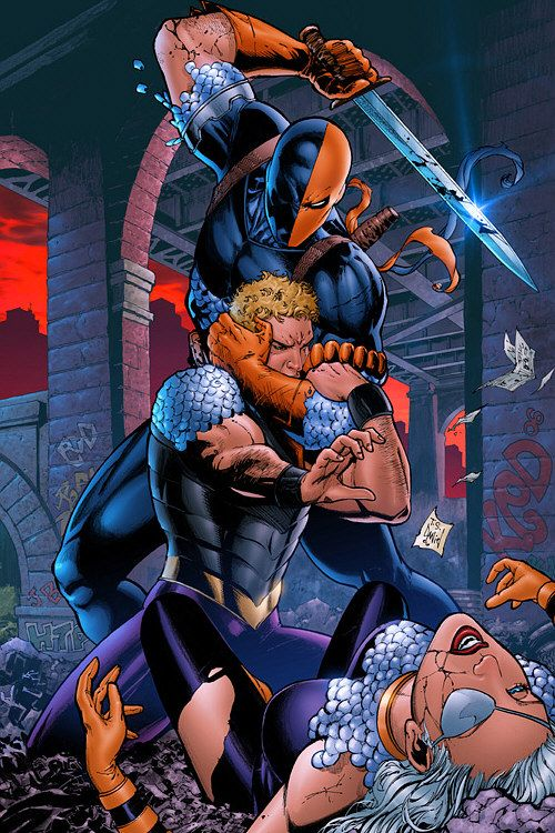 Deathstroke | ... game hunter and then a mercenary known as Deathstroke the Terminator