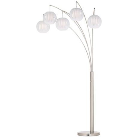 17 best images about lamps on pinterest white flowers for Arc nero 5 light floor lamp