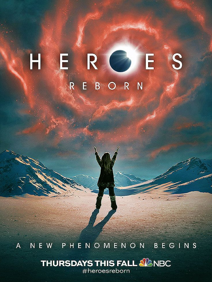Heroes Reborn série créé par Tim Kring, dérivé de la série Heroes, un tragique évènement, fait vivre en clandestin les gens aux capacités extraordinaires.