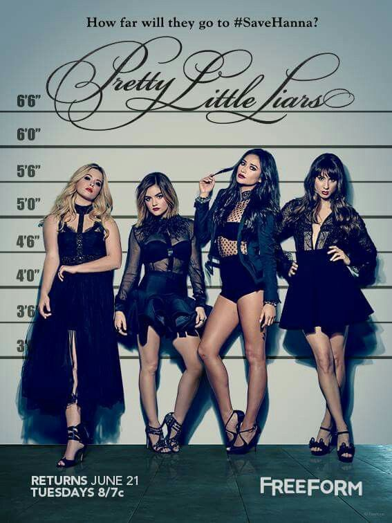 Pretty Little Liars Return on June 21, #SaveHanna