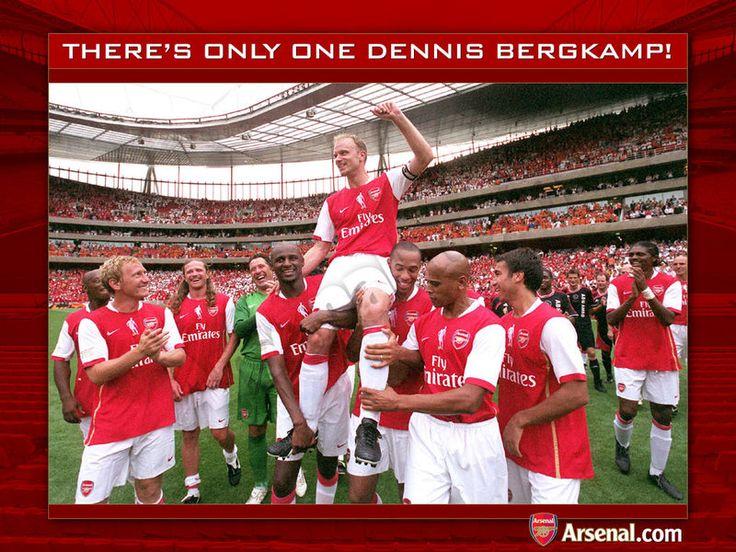 Arsenal Legend -- Dennis Bergkamp