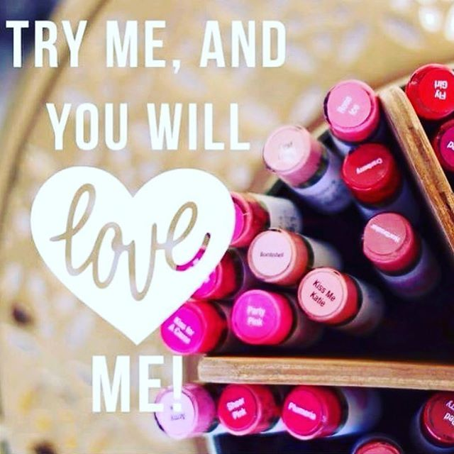 Have you heard about Lipsense?  Have you tried it?  If not call and schedule a one on one demo and try colors.  Check me out on Facebook.  www.facebook.com/lipsunlimited