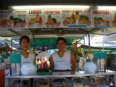Parap markets - my favourite juice ladies all year round