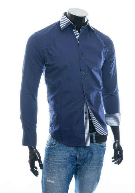 LAPOTTA Herren Business Hemd Men Shirt H12 Dunkelblau Größe M L XL XXL 100% Baumwolle