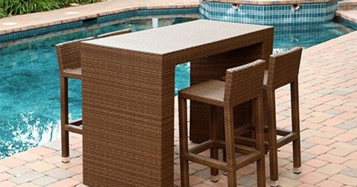 ¿Pensando en crear una zona de bar? En Auria Style tenemos mesas y taburetes que quedan estupendos en interior y en exerior: www.auriastyle.com/categoria-producto/mesas-altas/