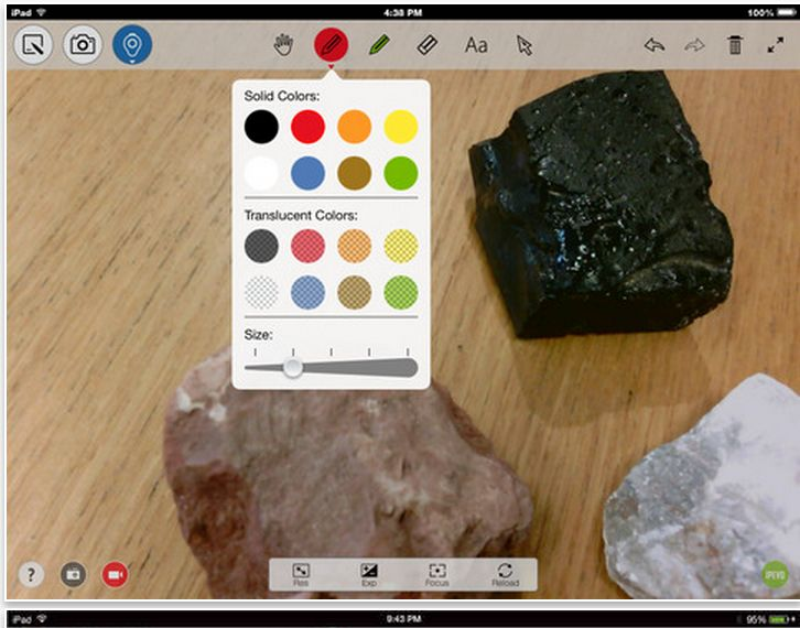 Here Is How to Use iPad As A Document Camera in Class.  This could be AMAZING for looking at individuals works as a class for formative assessment or for looking at artefacts etc up close as a class.  I'll definitely be using this next term!