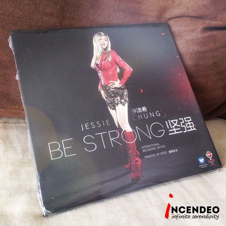Jessie Chung 钟洁希,Be Strong 坚强 CD Album. #jessiechung #bestrong #cd #audio #album #music #princessofrock #collection #collectibles #incendeo #infiniteserendipity #钟洁希 #坚强 #摇滚公主 #音乐 #歌 #光碟 #收藏