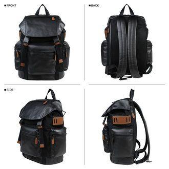 SneaK Online Shop   Rakuten Global Market: Coach bags men's COACH Backpack Backpack black F54777 [10/17 back in stock]