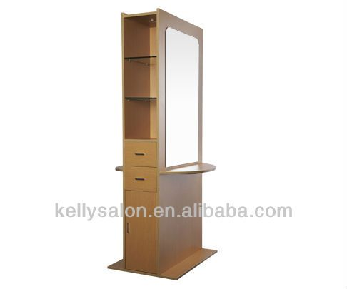 Two mirrors salon styling station / Popular& elegant salon mirror /beauty salon mirror $500