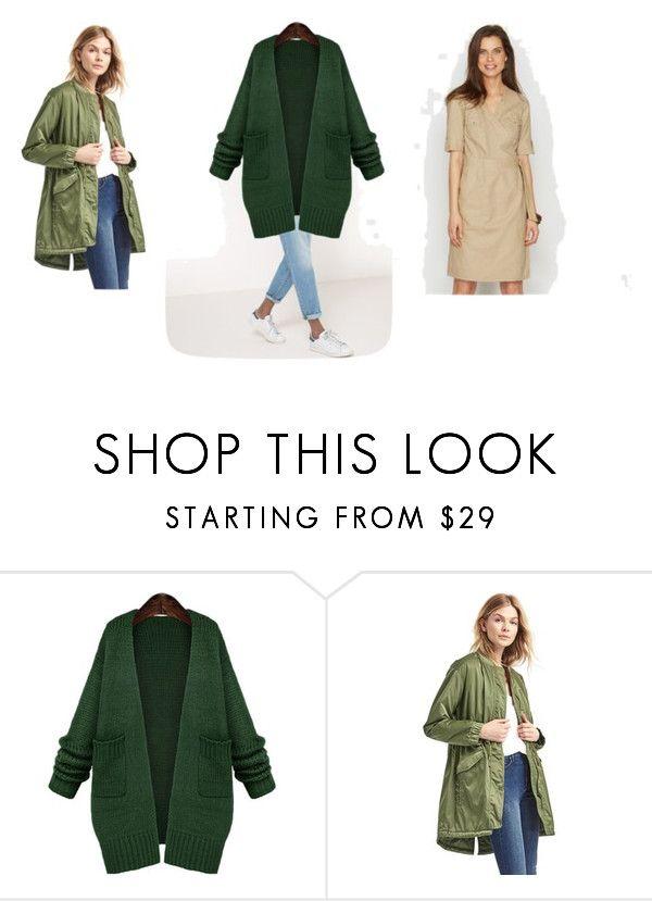 Базовая одежда для леди фриланс by elina-sedina - с платьем из льна и джинсами - летняя вечерняя прогулка