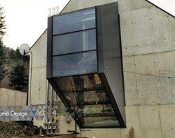 Fasada strukturalna, Bielsko Biała - zdjęcie od Alpina Design Ogrody Zimowe & Szkło Architektoniczne