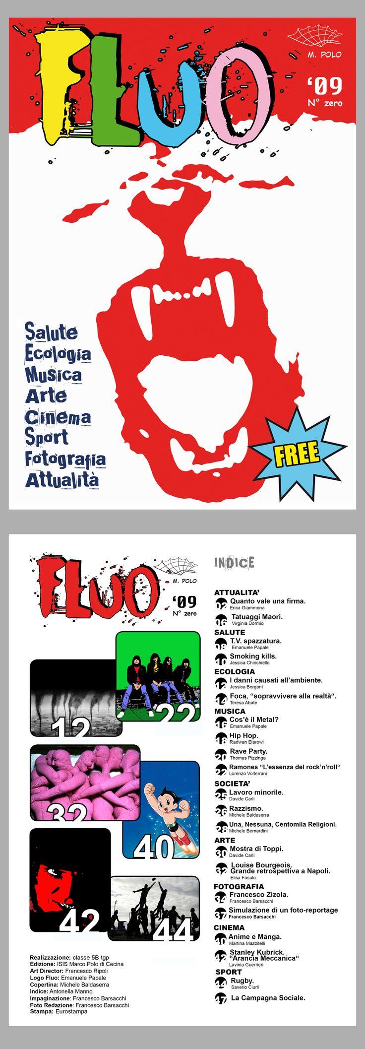 FLUO '09. Copertina + Indice