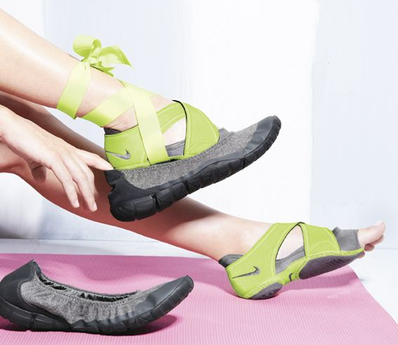 Nike Studio Wrap Pack...OMG I am really getting into yoga and these seem perfect. I won't have to worry about sweaty feet anymore :)