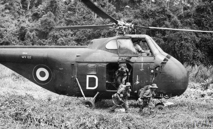 NO. 848 NAVAL AIR SQUADRON, FLEET AIR ARM, DURING THE MALAYAN EMERGENCY, 1953-1956.