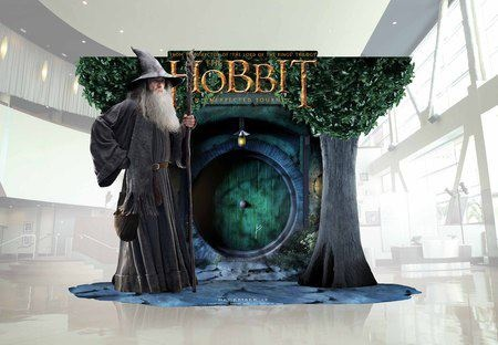 Check out the official The Hobbit Standee for movie theaters!