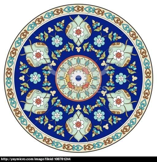 artistic ottoman pattern series eleven