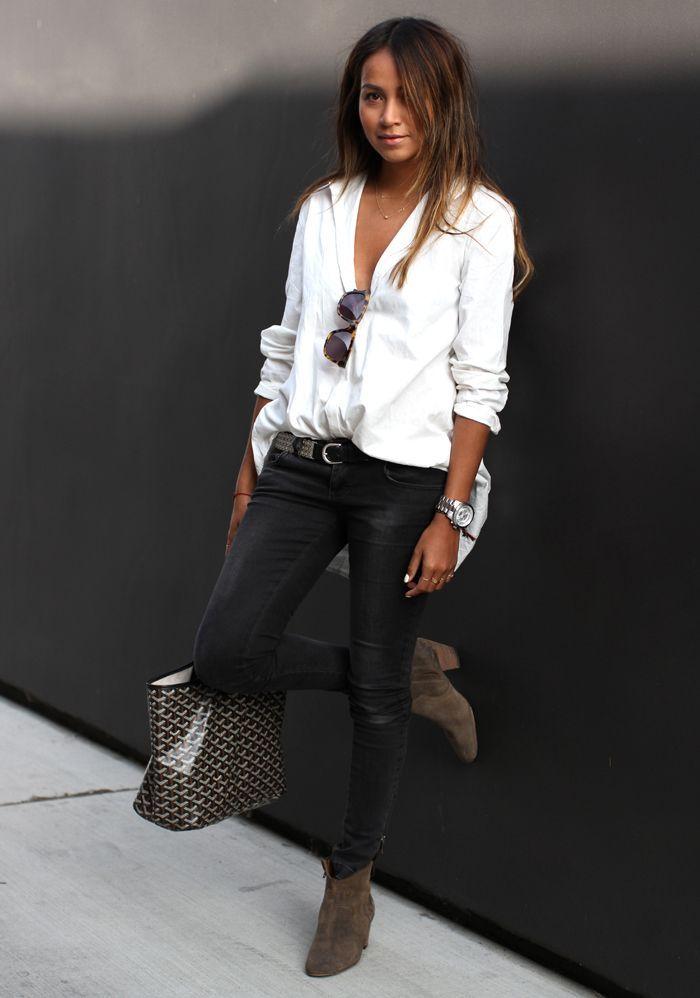 258 best images about Outfit ideas on Pinterest   Boyfriend jeans ...