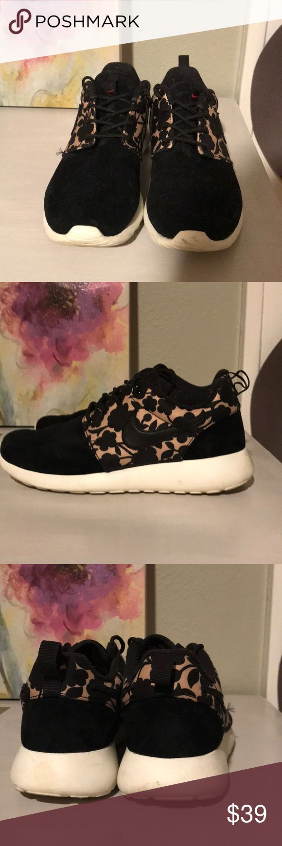 Nike Liberty of London print roshes Peel over but still has miles to go! Nike Shoes Sneakers
