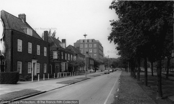 Welwyn Garden City, Parkway c.1965, from Francis Frith