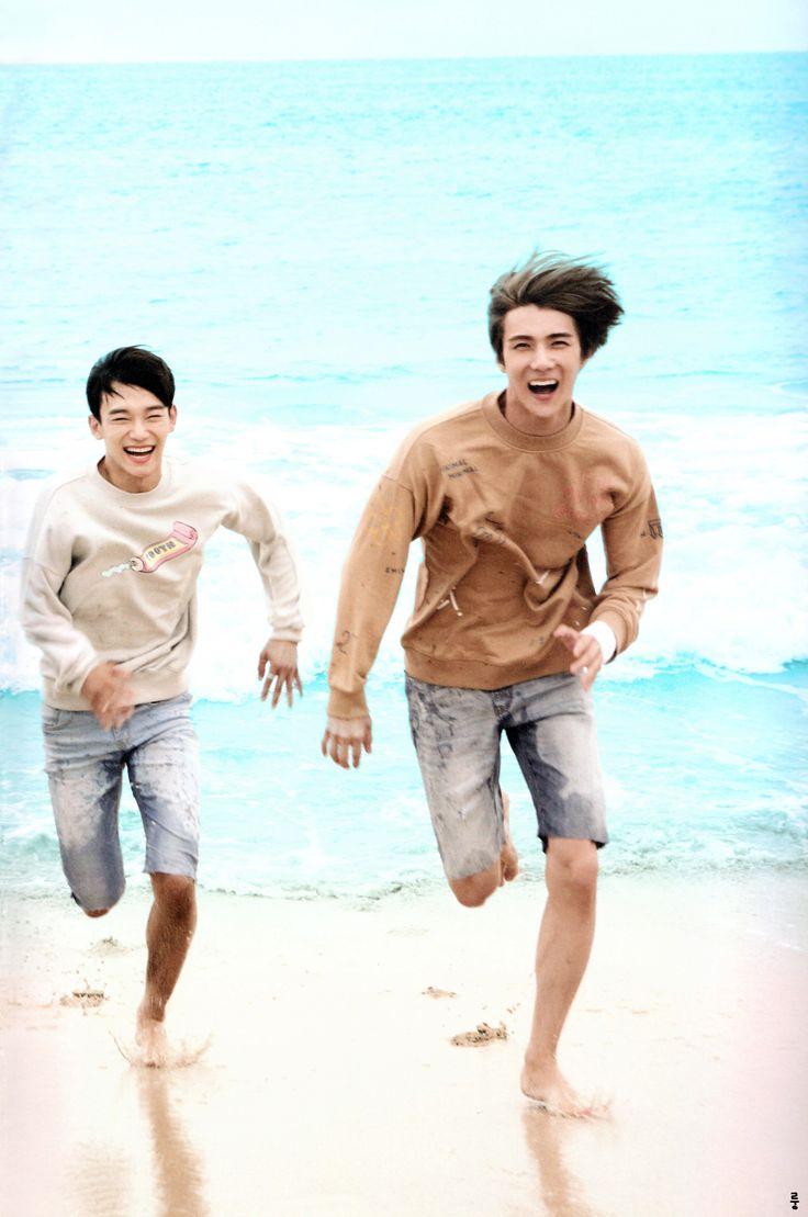 Happy Jongdae and Sehun <3