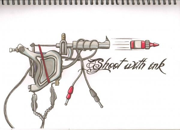 22 best images about tattoo machine on pinterest picture for How to put ink in a tattoo gun