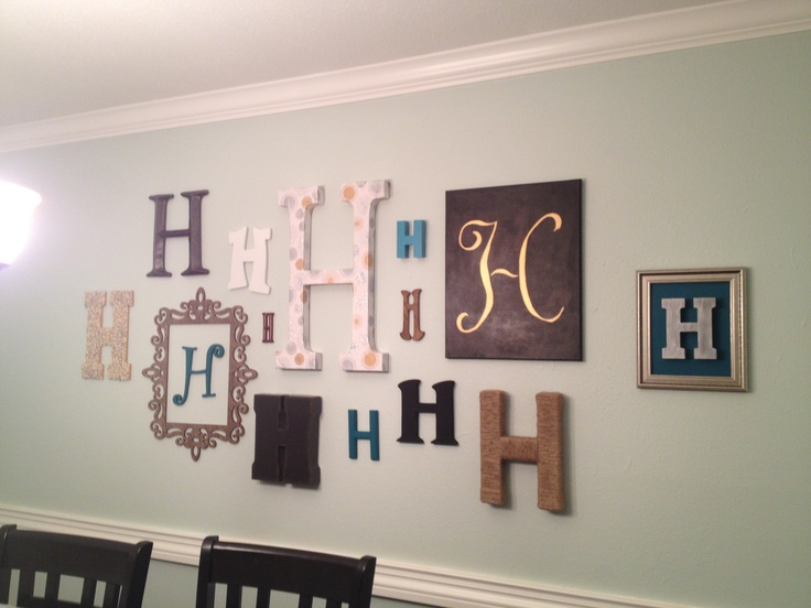 1000 Ideas About Monogram Wall On Pinterest Monogram