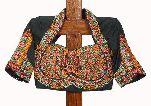 Black Kutch Work Blouse Design 18 – Desically Ethnic
