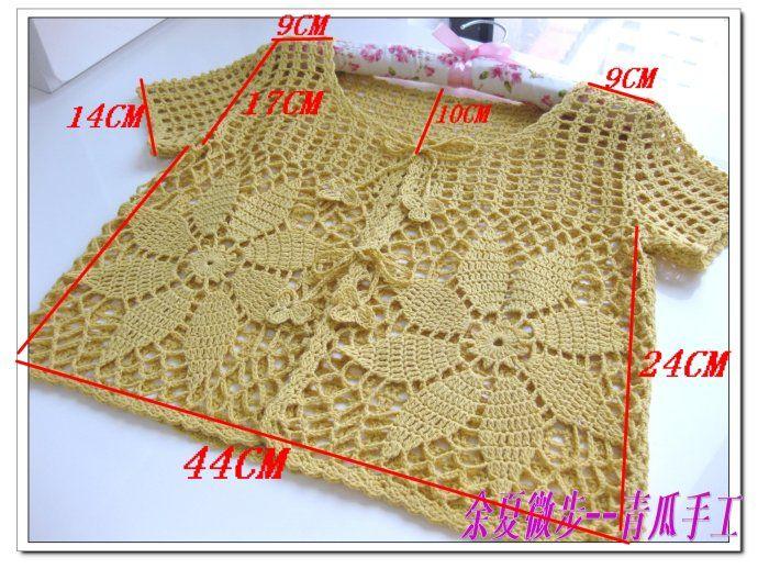 Crochetpedia: ganchillo de las mujeres Wear Chaqueta Top