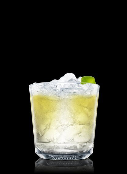Absolut Apeach Zest - Fill a chilled rocks glass with ice cubes. Add Absolut Apeach. Top up with lemon-lime soda. Garnish with lime. 1 Part Absolut Apeach, Lemon-Lime Soda, 1 Peel Lime