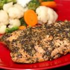 I love this salmon recipe!  I usually cut the amount of olive oil down to 4 tablespoons. Very kid friendly, too!