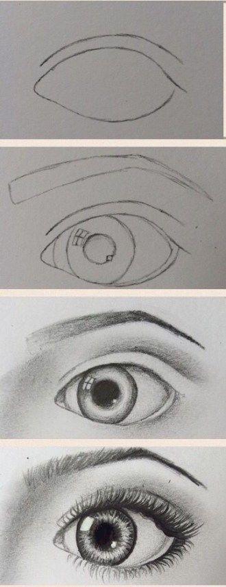 coole auge zeichnungsschritte. Besuchen Sie meinen YouTube-Kanal, um zu lernen, wie man malt und malt