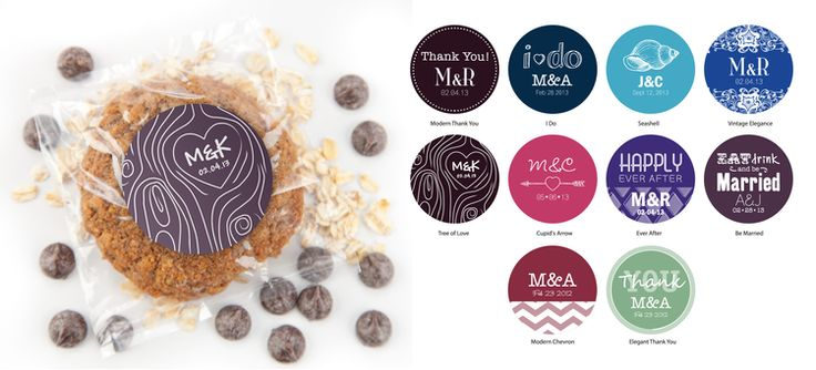 Customizable Med Round Labels
