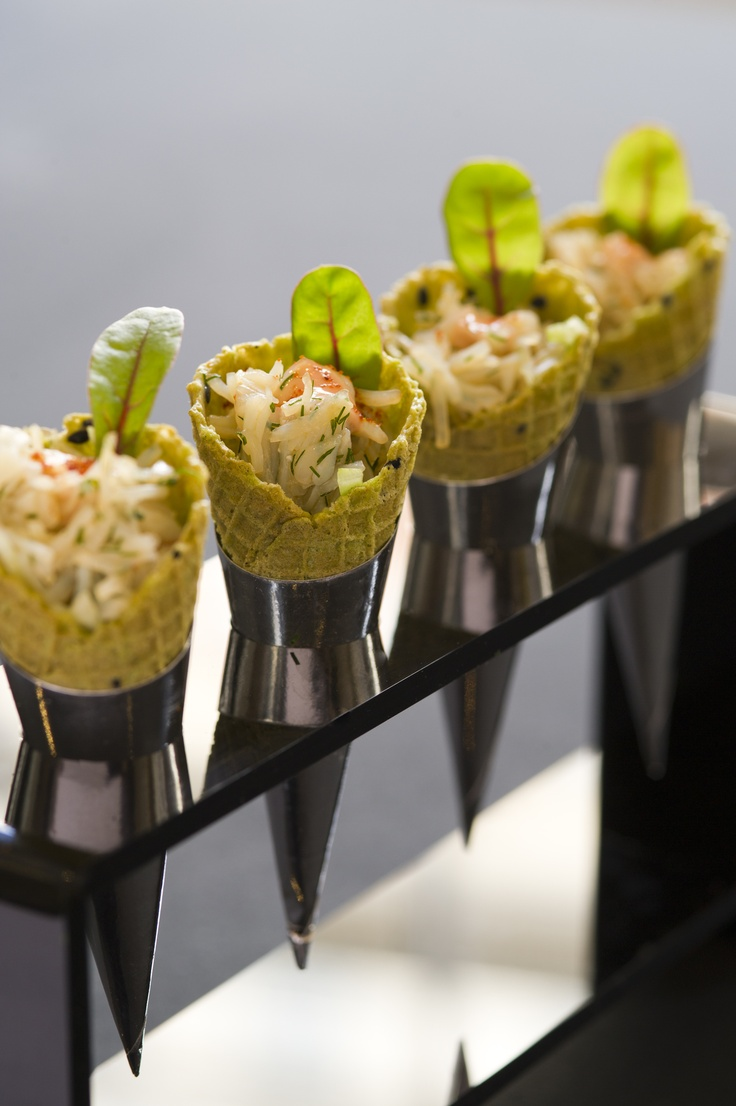 Crab Cone Canape at 195 Piccadilly