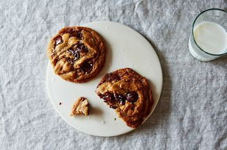 Ovenly's+Secretly+Vegan+Salted+Chocolate+Chip+Cookies+Recipe+on+Food52,+a+recipe+on+Food52