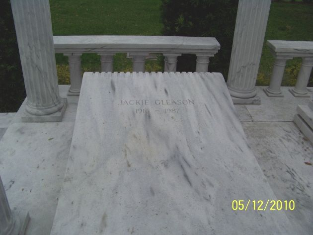 Jackie Gleason GravesiteFamous Graves, Famous Tomb, Final Rest, Famous Stars, Jackie, Florida Gravesites, Famous Rest, Gleason Gravesites, Graves Stones