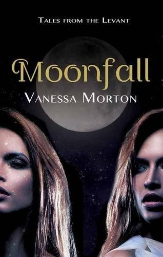 Cover of my debut novel, Moonfall: Tales from the Levant. http://www.vanessamorton.com
