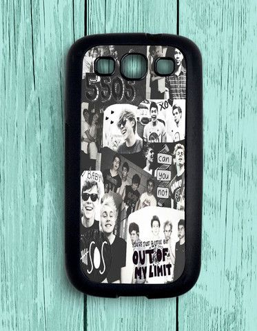 5 Second Of Summer Collage Black And White Samsung Galaxy S3 | Samsung S3 Case