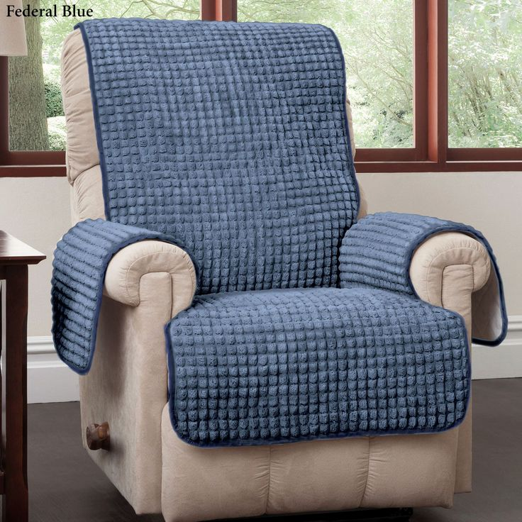 Puff Furniture Protector Recliner/Wing Chair