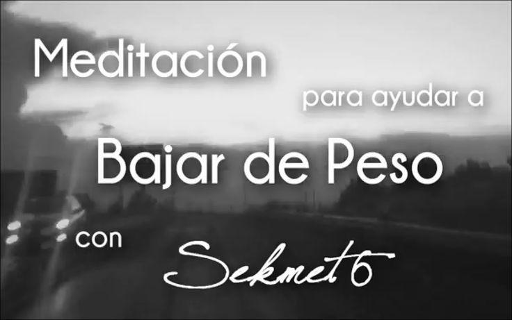 BAJAR DE PESO - HIPNOSIS    meditacion para bajar de peso (Hipnosis para adelgazar)