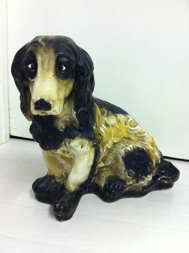 Cocker Spaniel Dog. Large 14  Ornament. Adorable and Well loved.