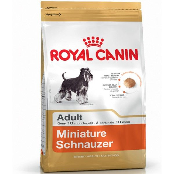 Royal Canin Miniature Schnauzer Adult 25 precio rebajado