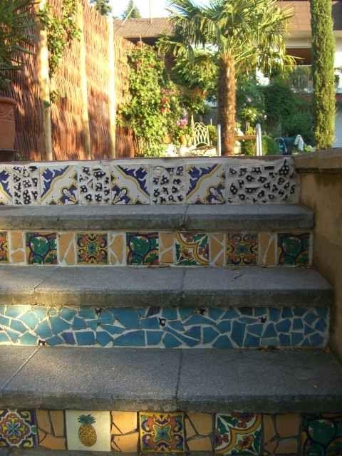 Unique Treppen Mosaik Bilder und Fotos