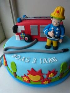Brandweerman Sam-taart