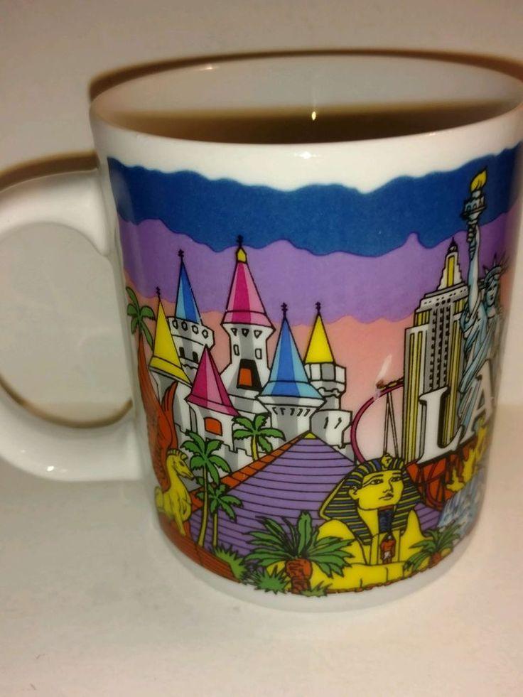 Travel Souvenir Collectible Coffee Mug from Las Vegas NV Nevada Western Supply