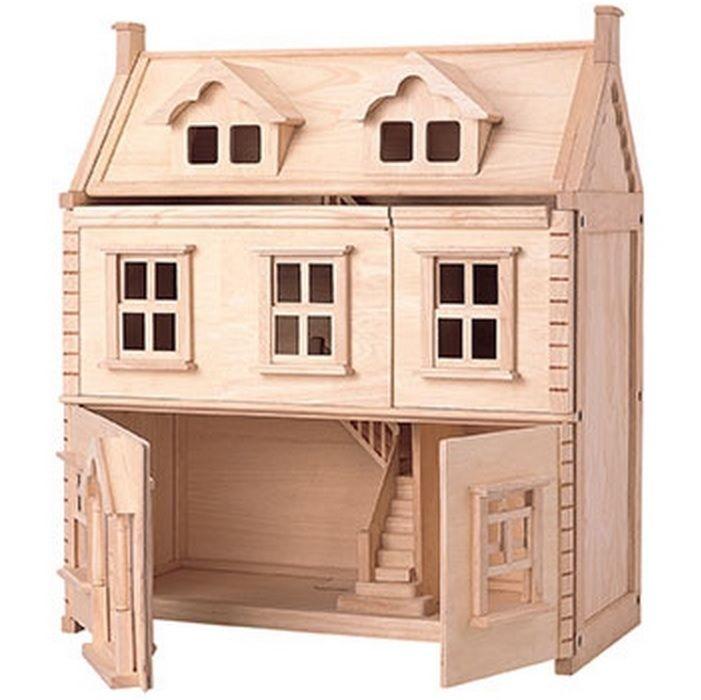Viktorianisches Puppenhaus zum Aufklappen