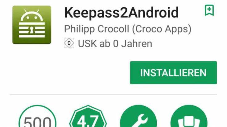 Tools wie KeePass2 erleichtern die Nutzung von Passwörtern enorm und sind oft auch auf mobilen Geräten verfügbar.