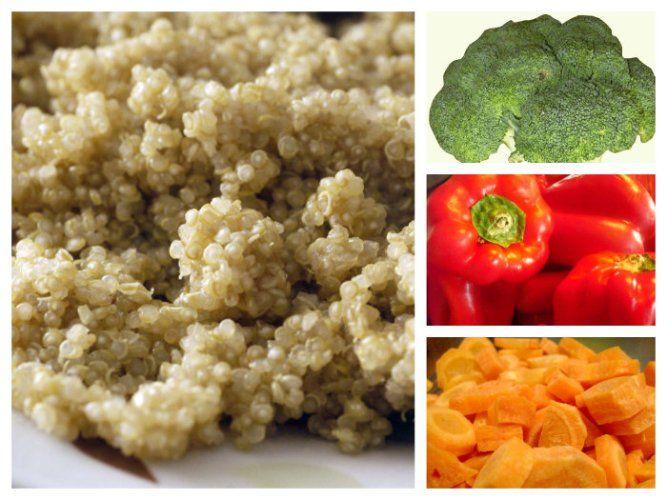 Kvinoa tonnikalasalaatti